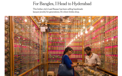 New York Times: For Bangles I Head to Hyderabad