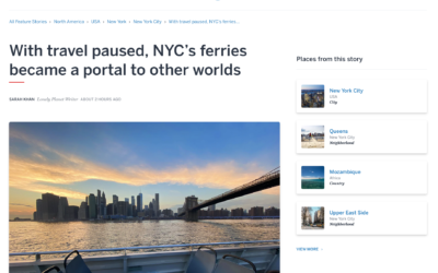 Lonely Planet: With Travel Paused, NYC's Ferries Became a Portal to Other Worlds