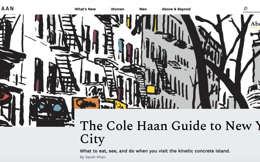 The Cole Haan Guide to New York City