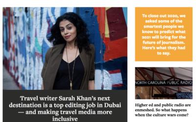 Neiman Lab: Travel writer Sarah Khan's next destination is a top editing job in Dubai — and making travel media more inclusive