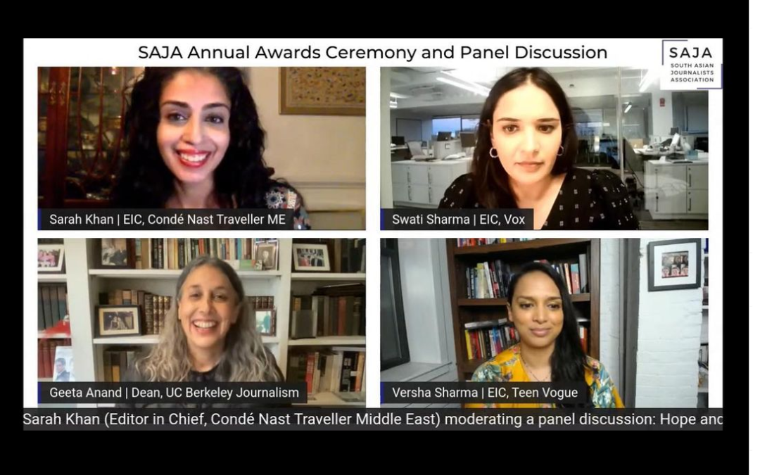 South Asian Journalists Association Awards and Keynote Panel 2021
